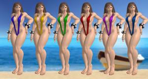 Chun li bikini