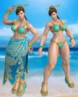 SFV Chun Li 4p by DragonLord720