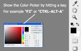 Show Color Picker with Hotkey