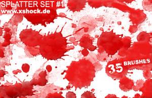 xshock.de splatter-set 1 by paras1c