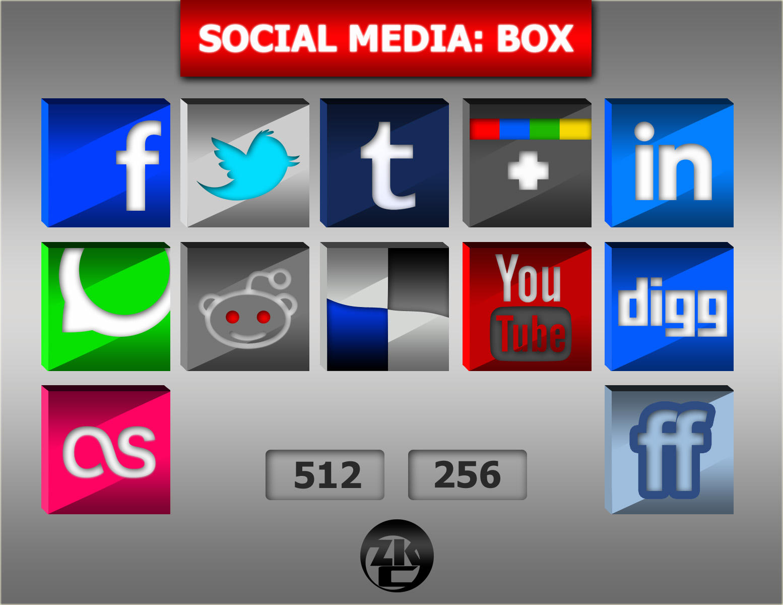 Social Media: Box by ozkc1