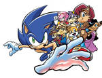 Sonic the Hedgehog- Game, TV show and Comic Story