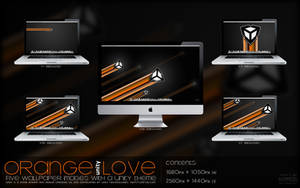 Wallpaper: Orange .Unity. Love