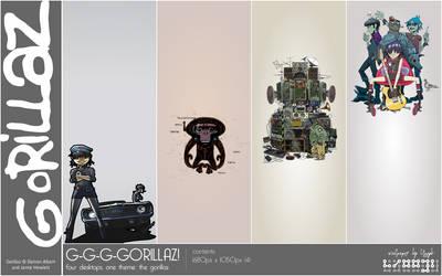 Wallpaper: G-G-G-Gorillaz