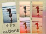Vintage Actions - Light leaks