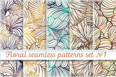 Floral patterns set