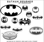 Batman Photoshop Brushes
