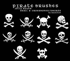 Jolly Roger SCS PS Brushes I by Kradchan