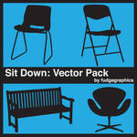 Sit Down Vector Pack