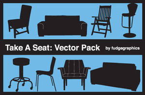 Take A Seat Vector Pack by fudgegraphics