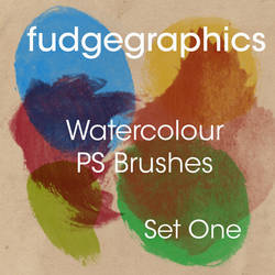 Watercolour Brushes Set 1