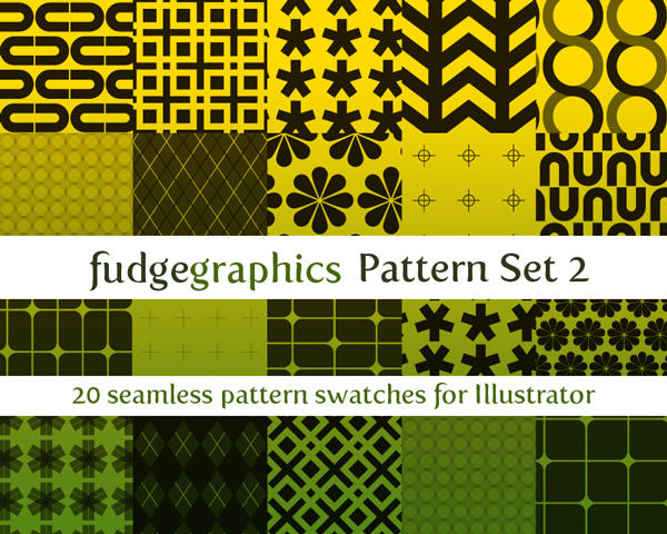 Pattern Set 2 by fudgegraphics