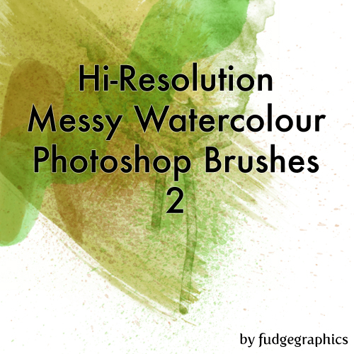 Hi-Res Messy Watercolours 2