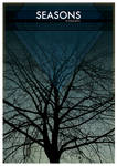 Seasons Blue 'free print' by fudgegraphics