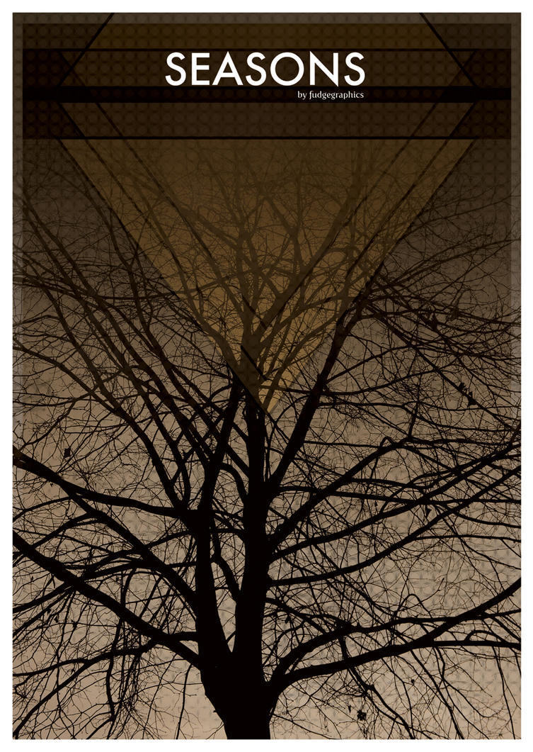 Brown Seasons 'free print' by fudgegraphics