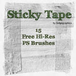 Sticky Tape Hi-Res PS Brushes