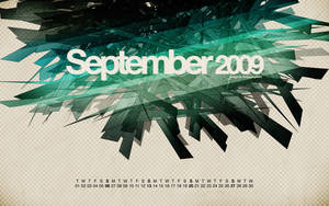 Shattered blue: September 09 by fudgegraphics