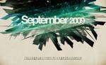 Shattered blue: September 09