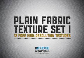 Plain Fabric Texture Set 1 by fudgegraphics