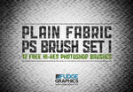 Plain Fabric PS Brush Set 1