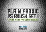 Plain Fabric PS Brush Set 1
