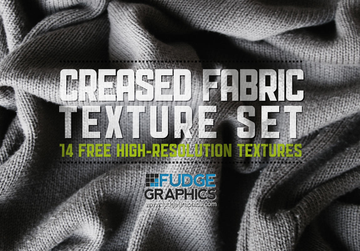 Creased Fabric Textures Set by fudgegraphics