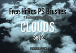 Hi-Res Clouds PS Brush Set 2