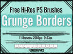 Grunge Borders PS Brush Set