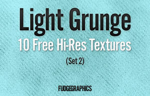 Light Grunge Textures Set 2 by fudgegraphics