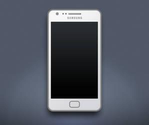 Samsung Galaxy SII by sparkyemp
