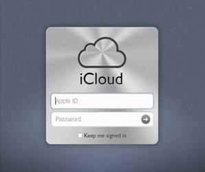 iCloud Login screen by sparkyemp