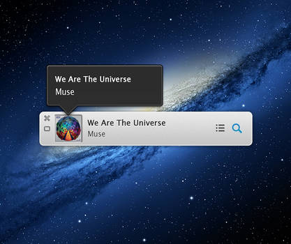 iTunes 11 Miniplayer PSD by sparkyemp