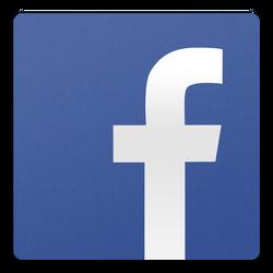 Facebook II icon (PSD) by sparkyemp