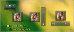 PiXies V1.0 For CD Art Display