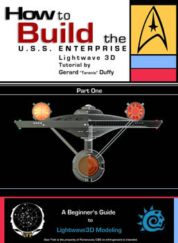01 How to Build the U.S.S. ENTERPRISE in Lightwave