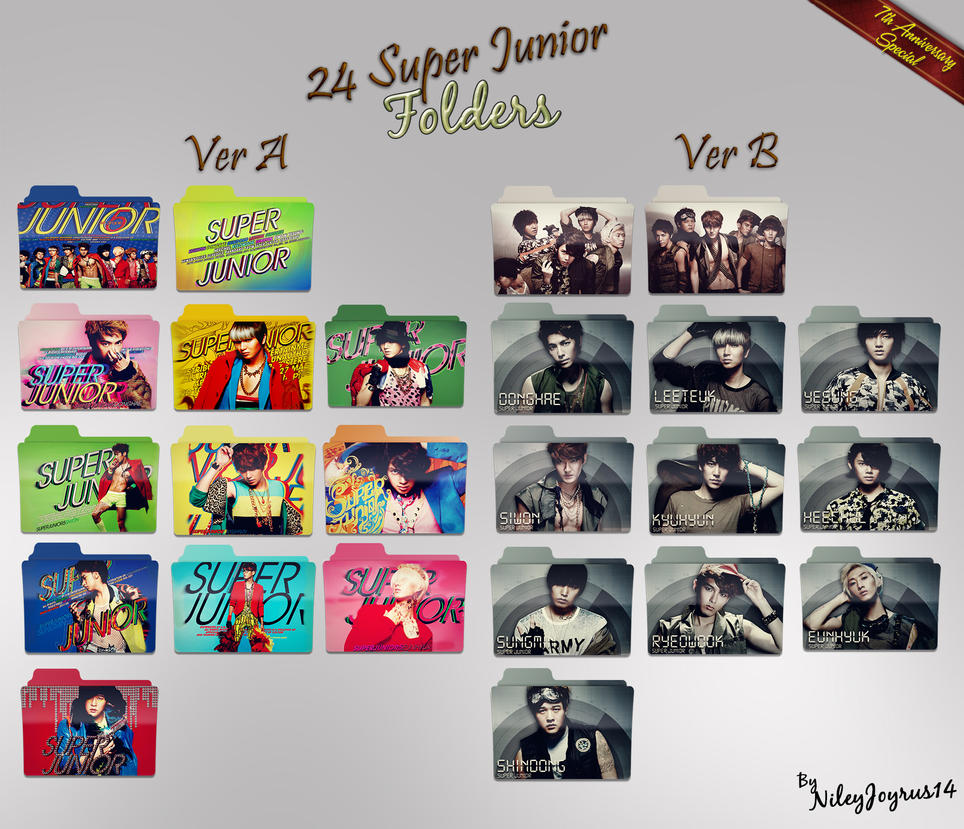 24 Mr. Simple Folders by NileyJoyrus14