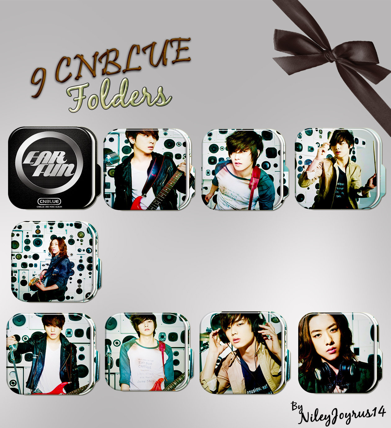 9 CNBLUE Hey You - Folders (Request) by NileyJoyrus14