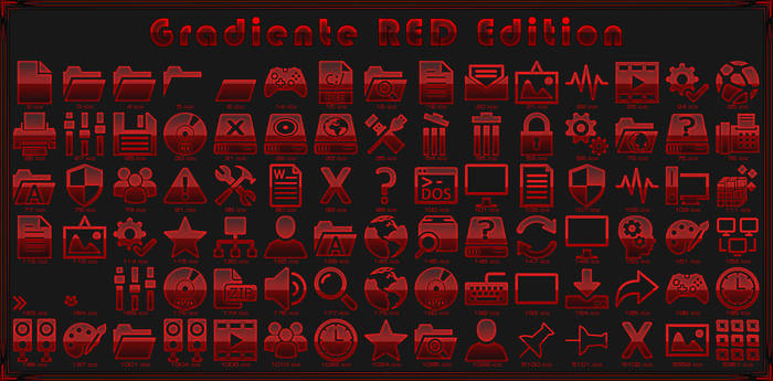 iPack Gradiente RED Edition by Agelyk