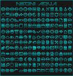 IconPack Neoni Aqua by Agelyk