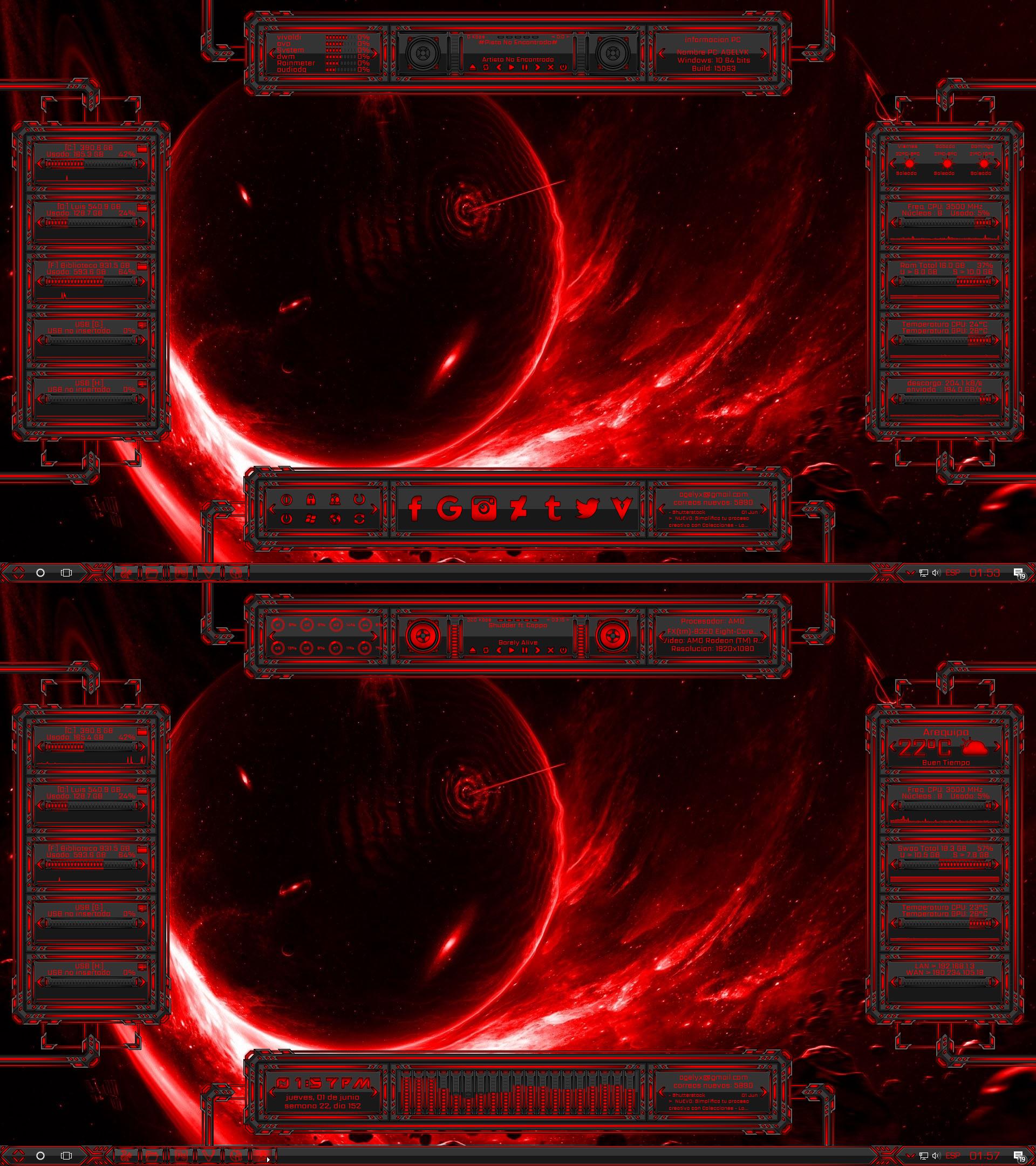My World VF [RGB] For Rainmeter By Agelyk On DeviantArt