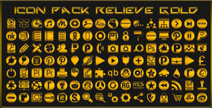 IconPack Relieve Gold
