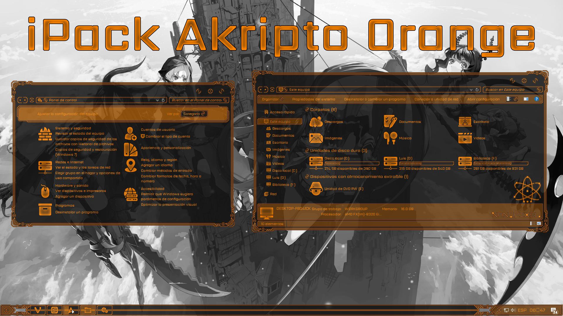 iPack Akripto Orange