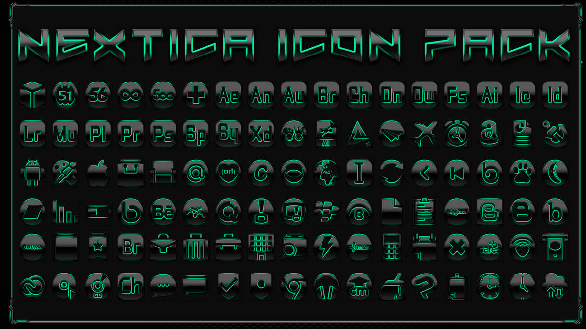Icon Pack Nextica