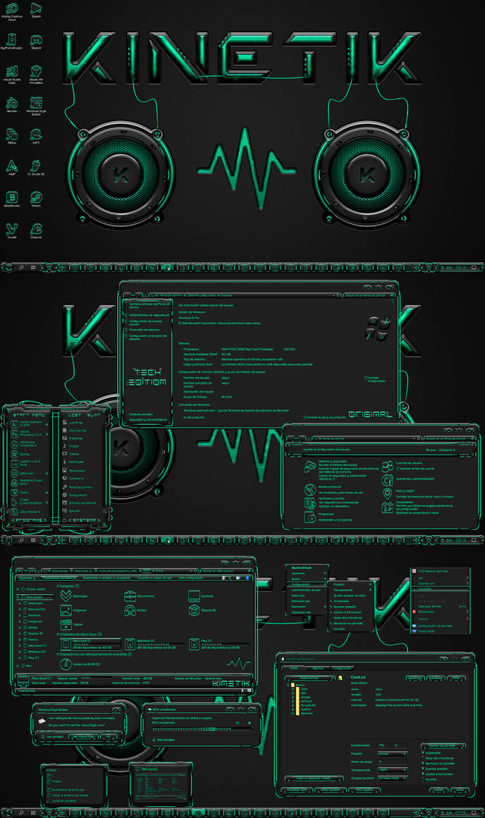 Kinetik Tech Edition for W10 by Agelyk