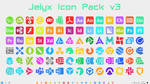 [IconPack] Jelyx v3 (700 icons) by Agelyk
