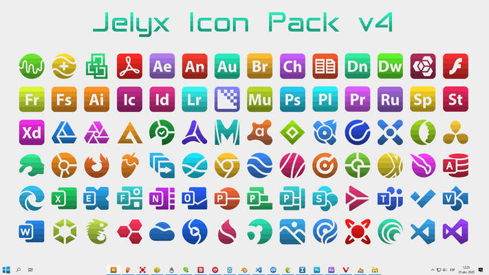 [IconPack] Jelyx v4 (700 icons)