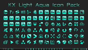 [IconPack] Kinetik X Light Aqua (700 icons)