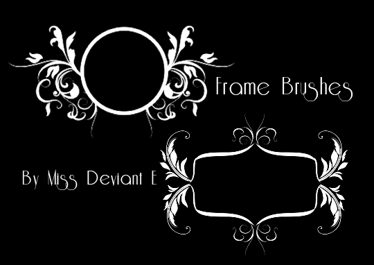 f63984a3a46 Frames Photoshop Brushes by Miss-deviantE on DeviantArt
