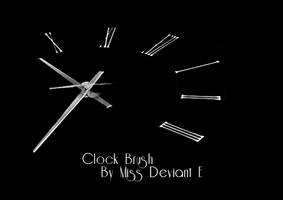 Clock Photoshop Brush by Miss-deviantE