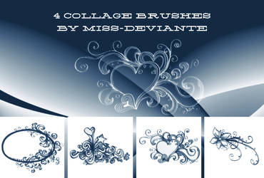 5f8293a9c5b Miss-deviantE 160 23 4 collage brushes by Miss-deviantE